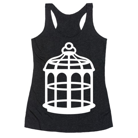 The Cage Racerback Tank Top