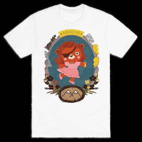 Nadine Hurley Bear Mens T-Shirt