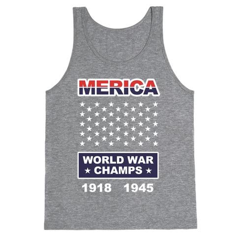 World War Champs Tank Top