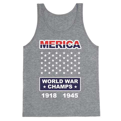 World War Champs Tank Top