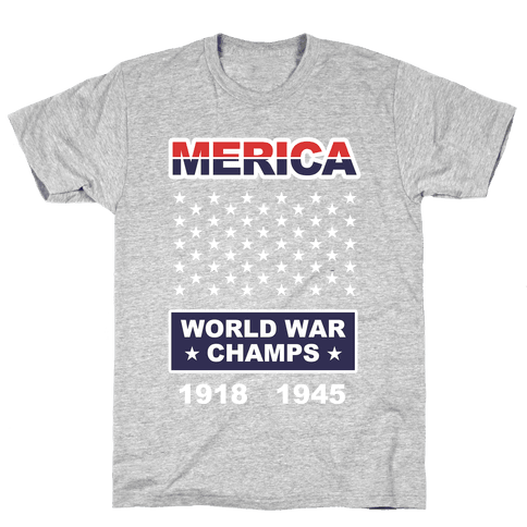 World War Champs Mens T-Shirt