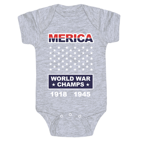 World War Champs Baby Onesy