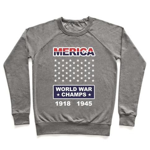 World War Champs Pullover
