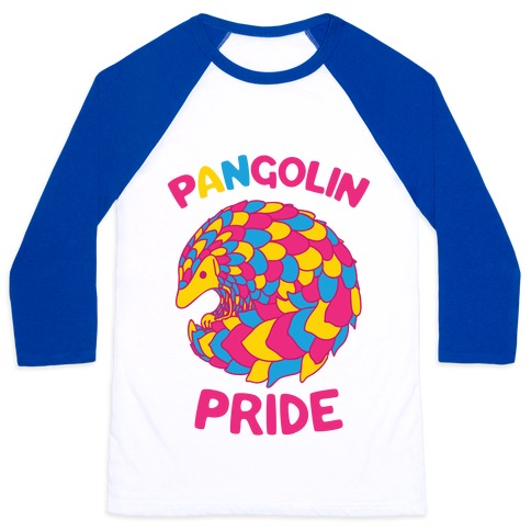 Pan-golin Pride Baseball Tee