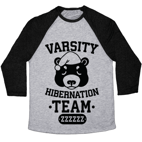 Varsity Hibernation Team Baseball Tee