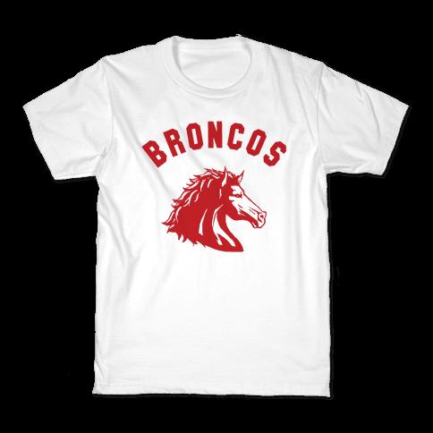 Broncos Red Kids T-Shirt