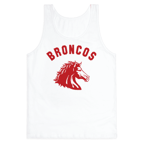 Broncos Red Tank Top