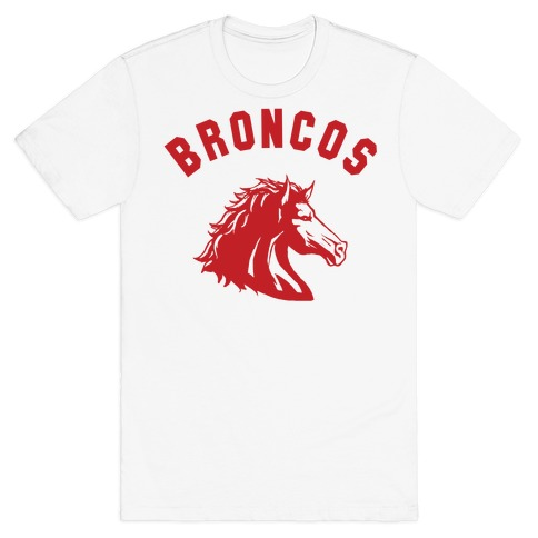 Broncos Red T-Shirt