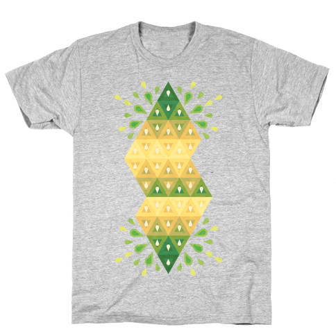 Abstract Summer Seed Garden Mens T-Shirt