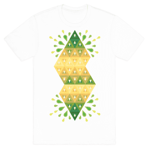 Abstract Summer Seed Garden Mens T-Shirt