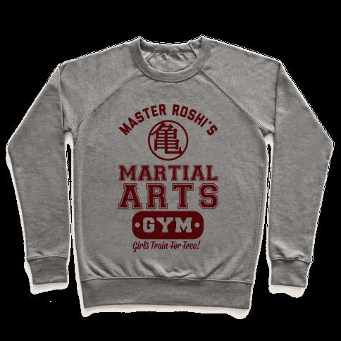 Master Roshi's Martial Arts Gym Pullover