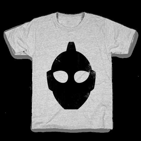 Ultraman Head (Vintage) Kids T-Shirt