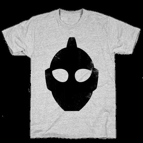 Ultraman Head (Vintage) Mens T-Shirt