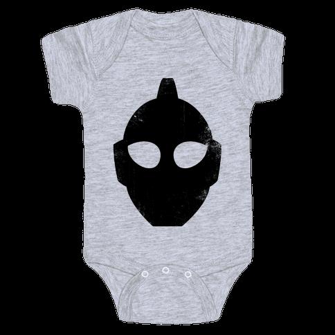 Ultraman Head (Vintage) Baby Onesy