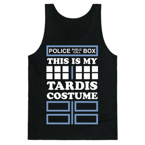 This Is My Tardis Costume Tank Top