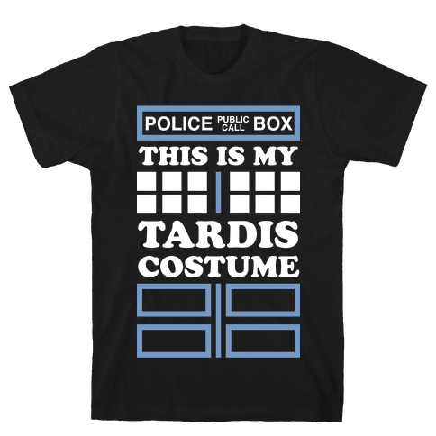 This Is My Tardis Costume Mens T-Shirt
