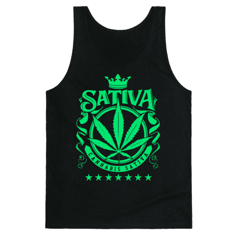 Cannabis Sativa Tank Top
