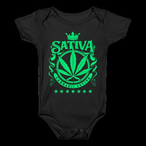 Cannabis Sativa Baby Onesy
