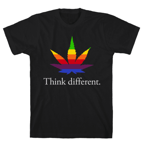 Think Different Mens T-Shirt