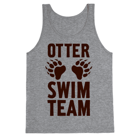 Otter Swim Team Tank Top