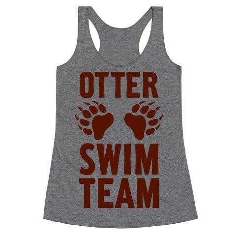 Otter Swim Team Racerback Tank Top
