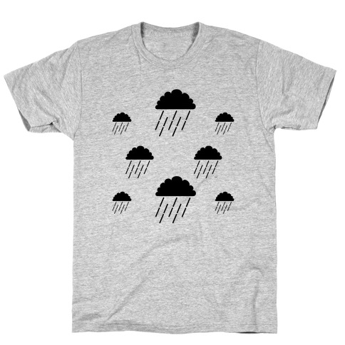Minimalist Rain Clouds T-Shirt