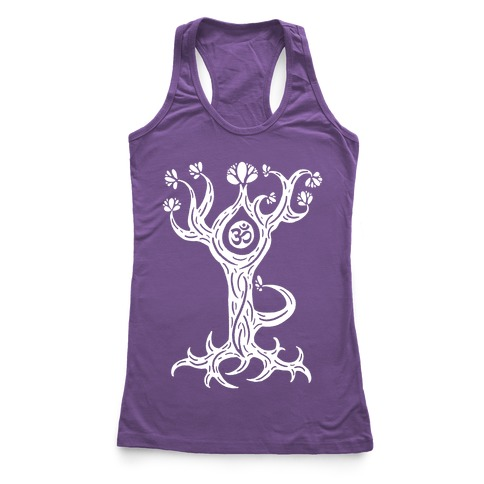 The Tree Pose Racerback Tank Top