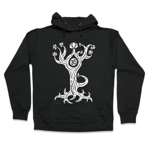 The Tree Pose Hooded Sweatshirt