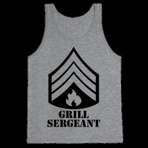 Grill Sergeant Tank Top