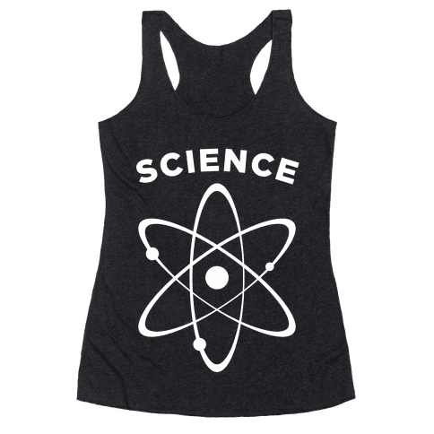 Science (Atom) Racerback Tank Top