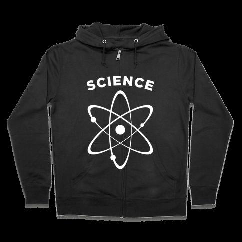 Science (Atom) Zip Hoodie