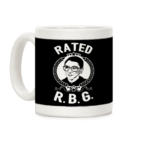 Rated R.B.G. Coffee Mug