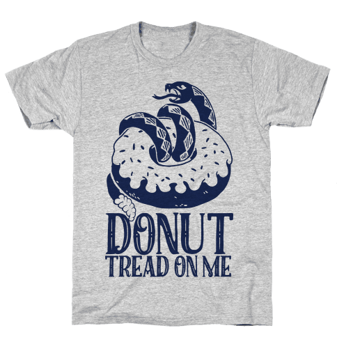 Donut Tread on Me Mens T-Shirt