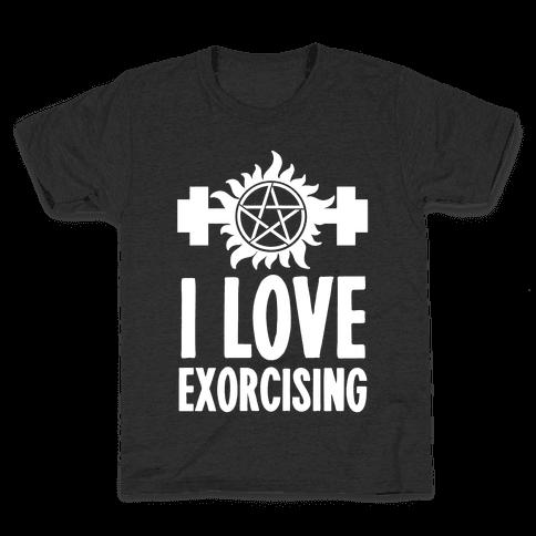 I Love Exorcising Kids T-Shirt