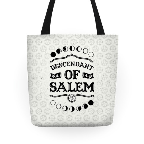Descendent Of Salem Tote
