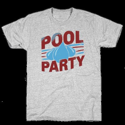 Pool Party Mens T-Shirt