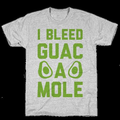 I Bleed Guacamole Mens T-Shirt