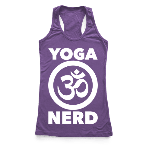 Yoga Nerd Racerback Tank Top