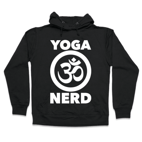 Yoga Nerd Hooded Sweatshirt