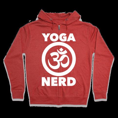 Yoga Nerd Zip Hoodie