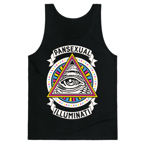 Pansexual Illuminati Tank Top