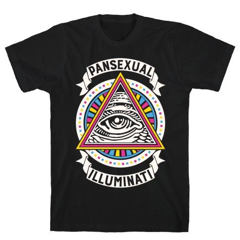 Pansexual Illuminati Mens/Unisex T-Shirt