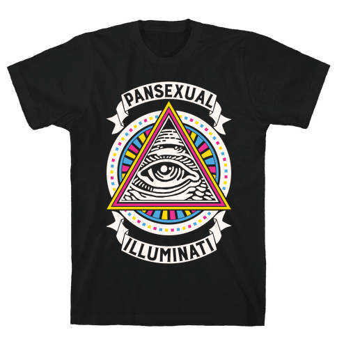 Pansexual Illuminati Mens T-Shirt