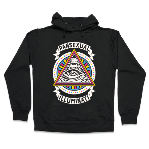 Pansexual Illuminati Hooded Sweatshirt