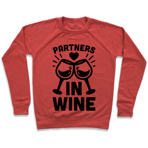 Partners In Wine Pullover