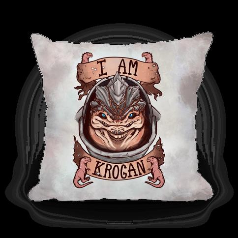 I am KROGAN! (Grunt) Pillow