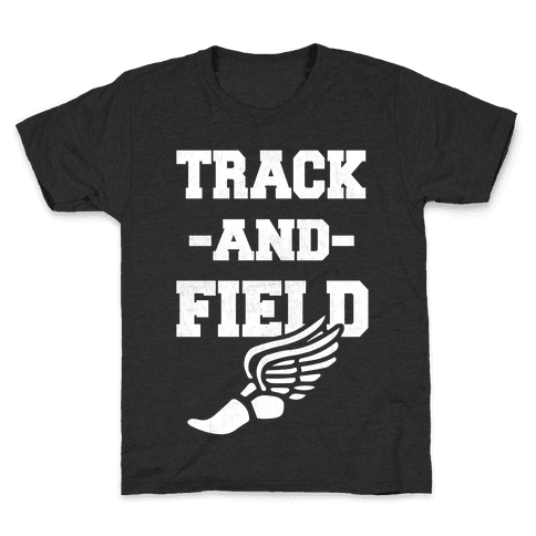 Track And Field Kids T-Shirt