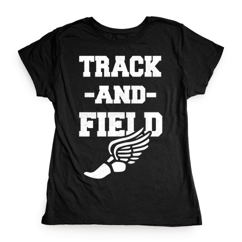 Track And Field Womens T-Shirt