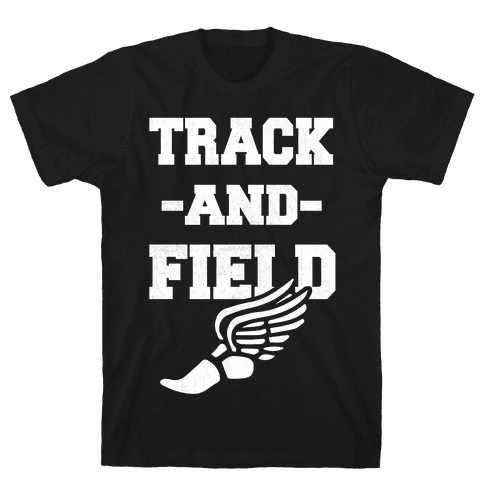 Track And Field Mens T-Shirt