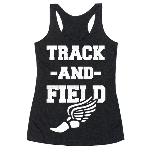 Track And Field Racerback Tank Top